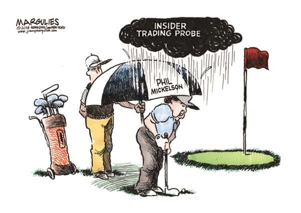 insider trading activity phil mickelson