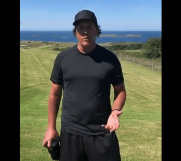 Phil Mickelson Fast