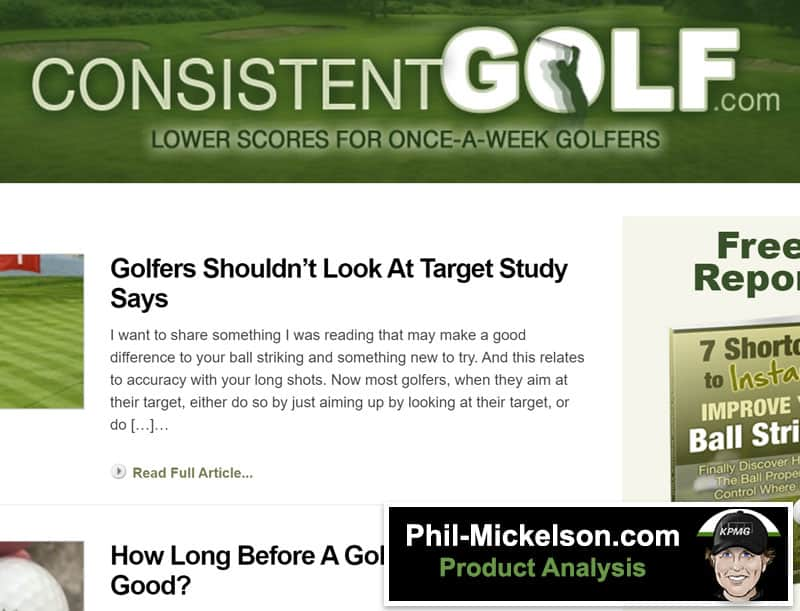consistent golf school review