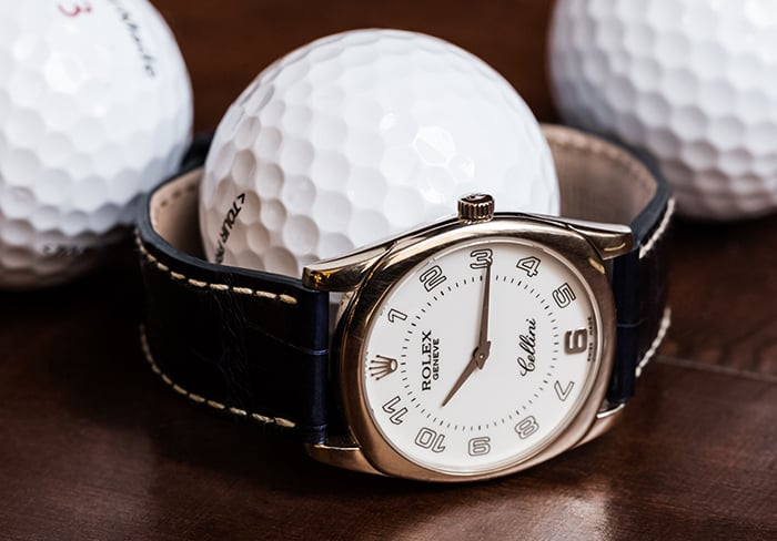 Phil Mickelson's Rolex
